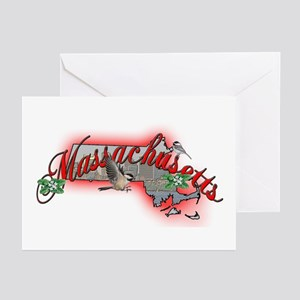Massachusetts Greeting Cards (Pk of 10)