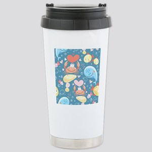 Cute Sea Life Stainless Steel Travel Mug