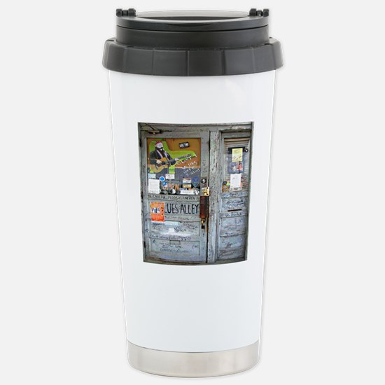 Ground Zero Blues Club  Stainless Steel Travel Mug