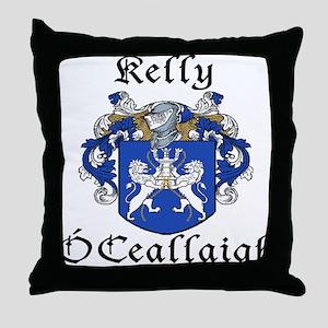 Kelly In Irish & English Throw Pillow