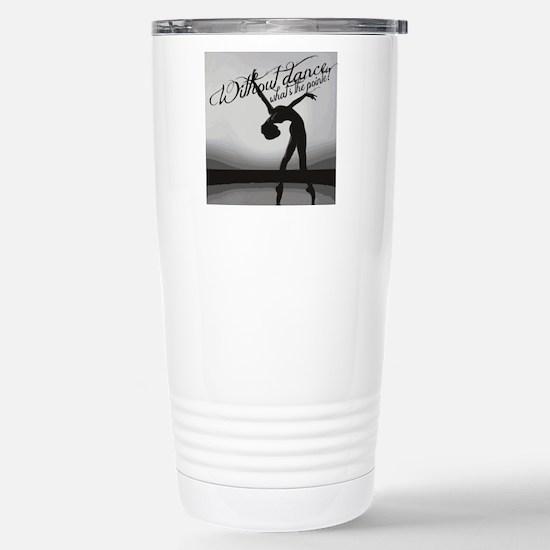Ballet Dancer Stainless Steel Travel Mug