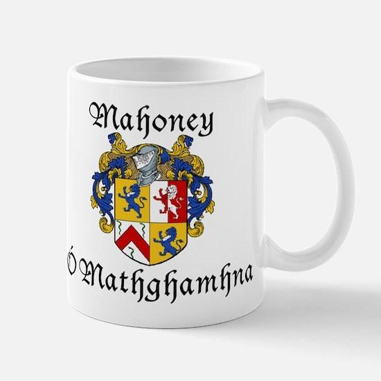 Mahoney In Irish & English Mug