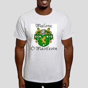 Malone In Irish & English Light T-Shirt