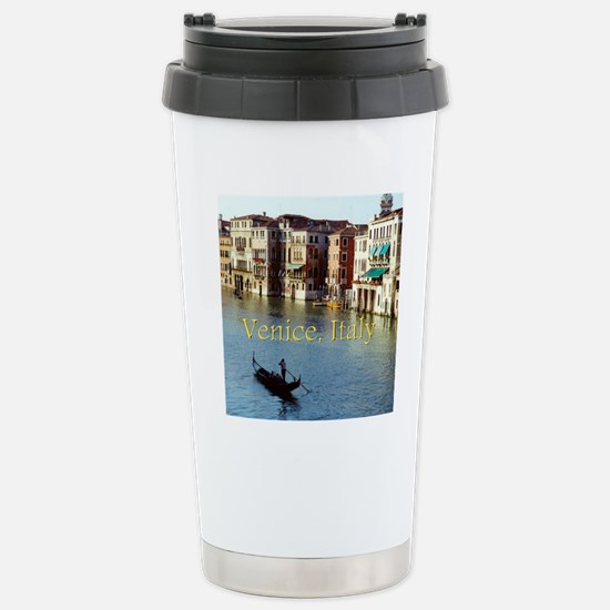Venice Italy Souvenir G Stainless Steel Travel Mug