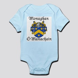 Monaghan In Irish & English Infant Bodysuit