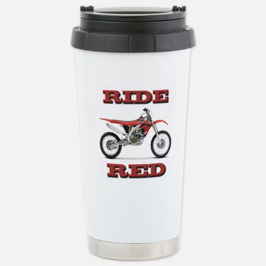 RideRed 08 Stainless Steel Travel Mug