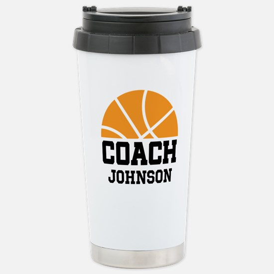 Gifts for basketball coach unique basketball coach gift ideas personalized basketball coach gift stainless steel negle Choice Image