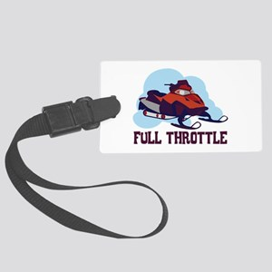 Full Throttle Luggage Tag