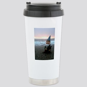 Sunset Gnome Stainless Steel Travel Mug