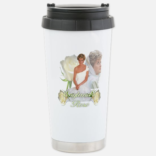Princess Diana England' Stainless Steel Travel Mug