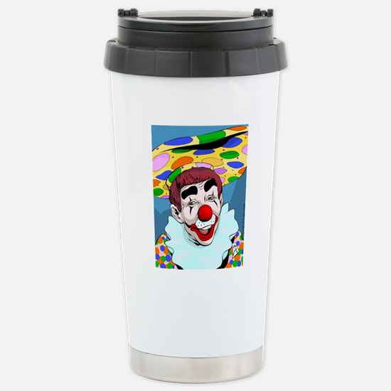 Whizzo Spots Stainless Steel Travel Mug