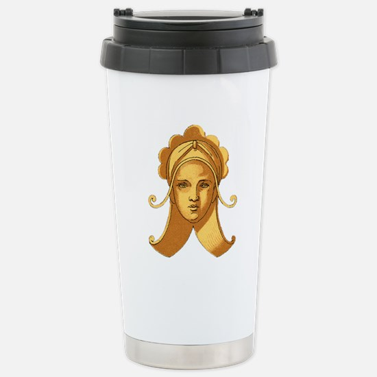Golden Girl Stainless Steel Travel Mug
