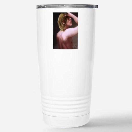 Armin Arlert Stainless Steel Travel Mug
