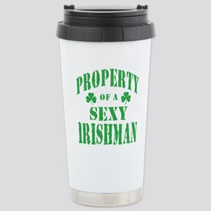 sexy irishman Stainless Steel Travel Mug