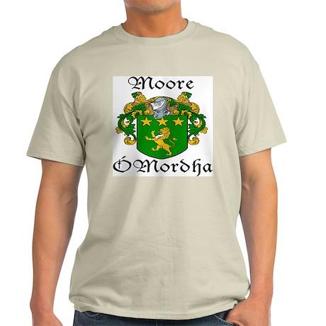 Moore In Irish & English Light T-Shirt