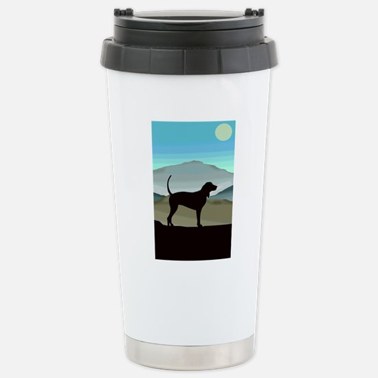Blue Hills Coonhounds Stainless Steel Travel Mug