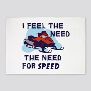 I Feel The Need The Need For Speed 5'x7'Area Rug