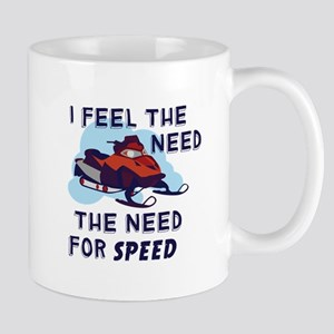 I Feel The Need The Need For Speed Mugs
