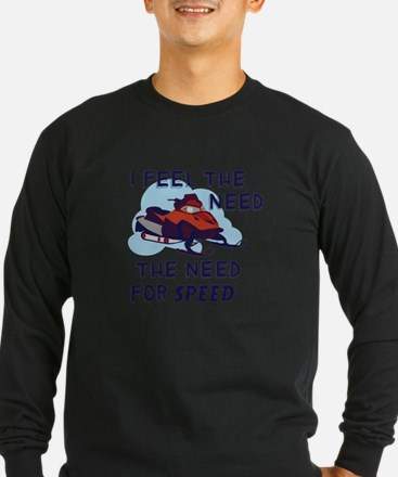 I Feel The Need The Need For Speed Long Sleeve T-S