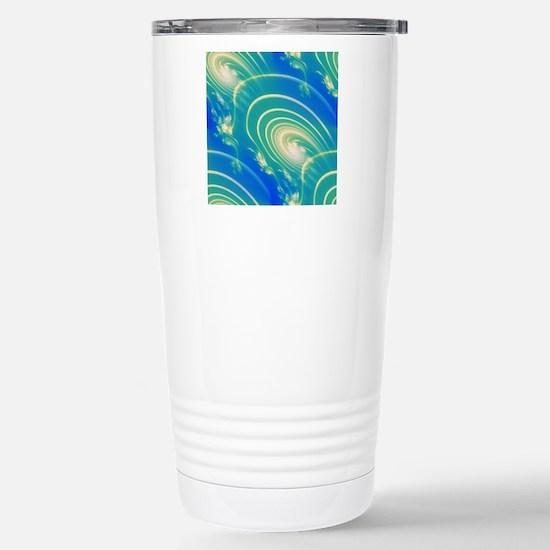 Galaxy Nebula Abstract Stainless Steel Travel Mug