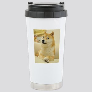 doge Stainless Steel Travel Mug