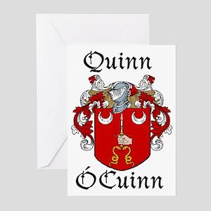 Quinn In Irish & English Cards (Pk of 10)