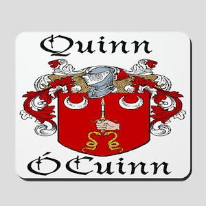 Quinn In Irish & English Mousepad