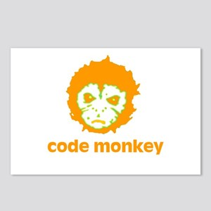 Code Monkey Postcards (Package of 8)