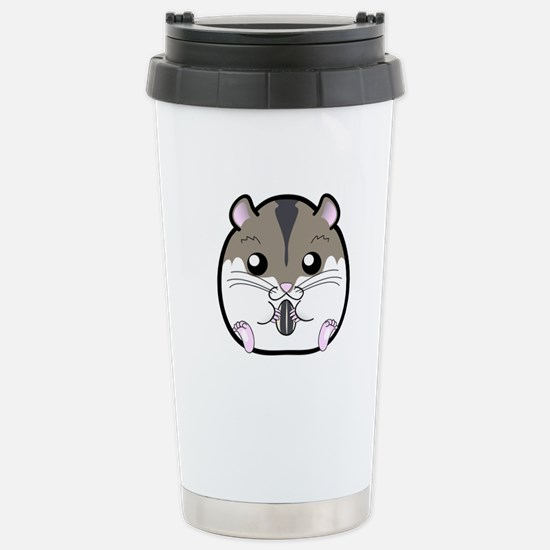 Winter Russian Dwarf Ha Stainless Steel Travel Mug