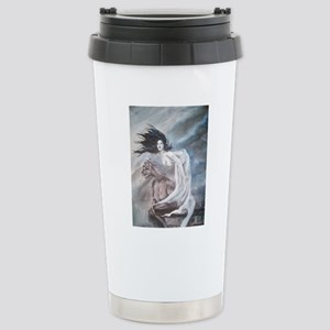 Gargoyle Girl Stainless Steel Travel Mug