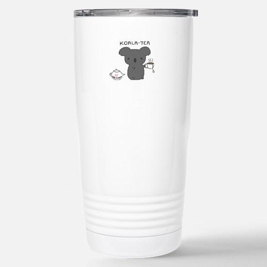 Koala Tea Stainless Steel Travel Mug