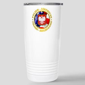 Polish American Stainless Steel Travel Mug