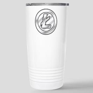 Litecoin Stainless Steel Travel Mug