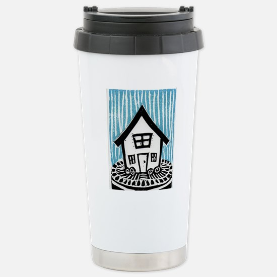 Happy House Stainless Steel Travel Mug