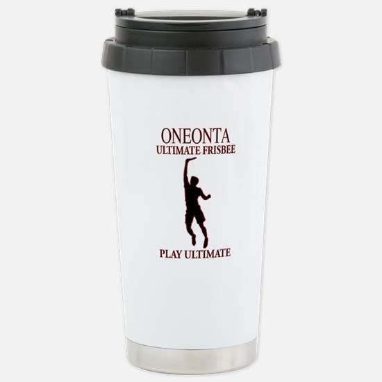 Ultimatefrisbee.png Stainless Steel Travel Mug