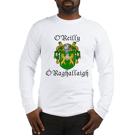 O'Reilly In Irish & English Long Sleeve T-Shirt