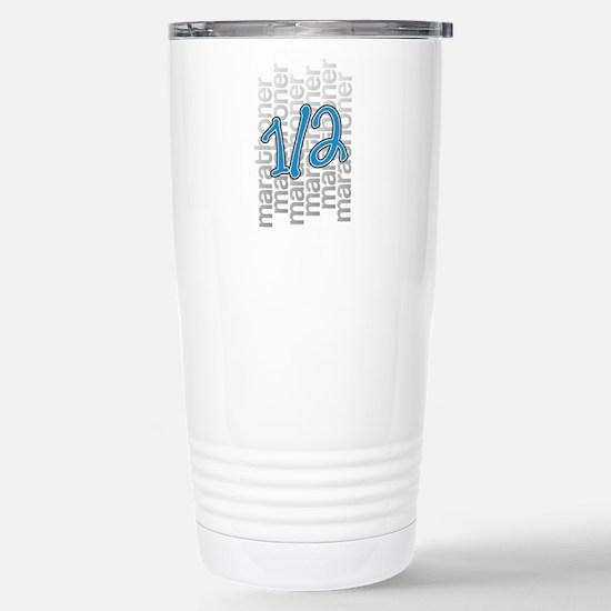 13.1 Half-Marathoner Stainless Steel Travel Mug