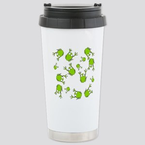 Frog Green Stainless Steel Travel Mug