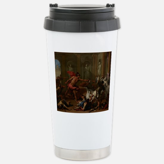 Perseus Confronting Phi Stainless Steel Travel Mug