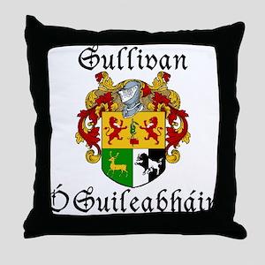 Sullivan In Irish & English Throw Pillow