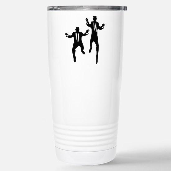 Dancing Brothers Stainless Steel Travel Mug