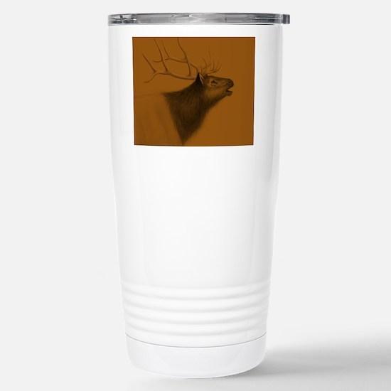 Elk Bull Stainless Steel Travel Mug