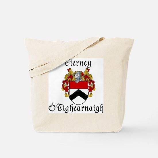 Tierney In Irish & English Tote Bag