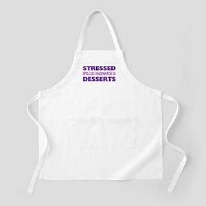 Stressed Desserts BBQ Apron