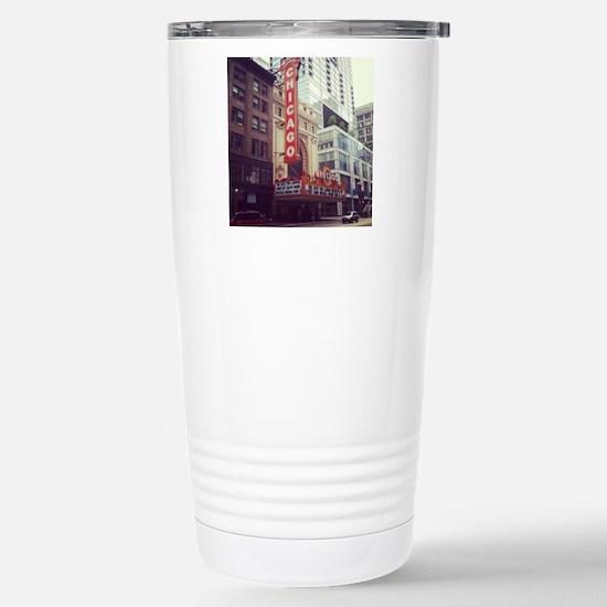 Chicago Theater  Stainless Steel Travel Mug