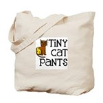Tiny Cat Pants Tote Bag