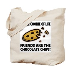 Chocolate Chip Friends Tote Bag