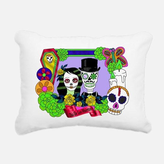 Cute All souls day Rectangular Canvas Pillow