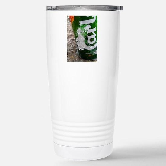 IcedCarlsber Stainless Steel Travel Mug