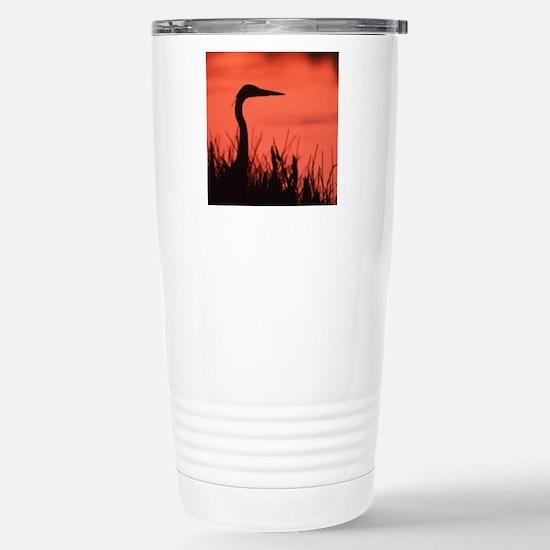 heron Stainless Steel Travel Mug